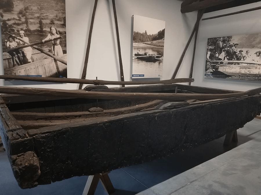 Barca de paso Río Miño Ecomuseo Arxeriz