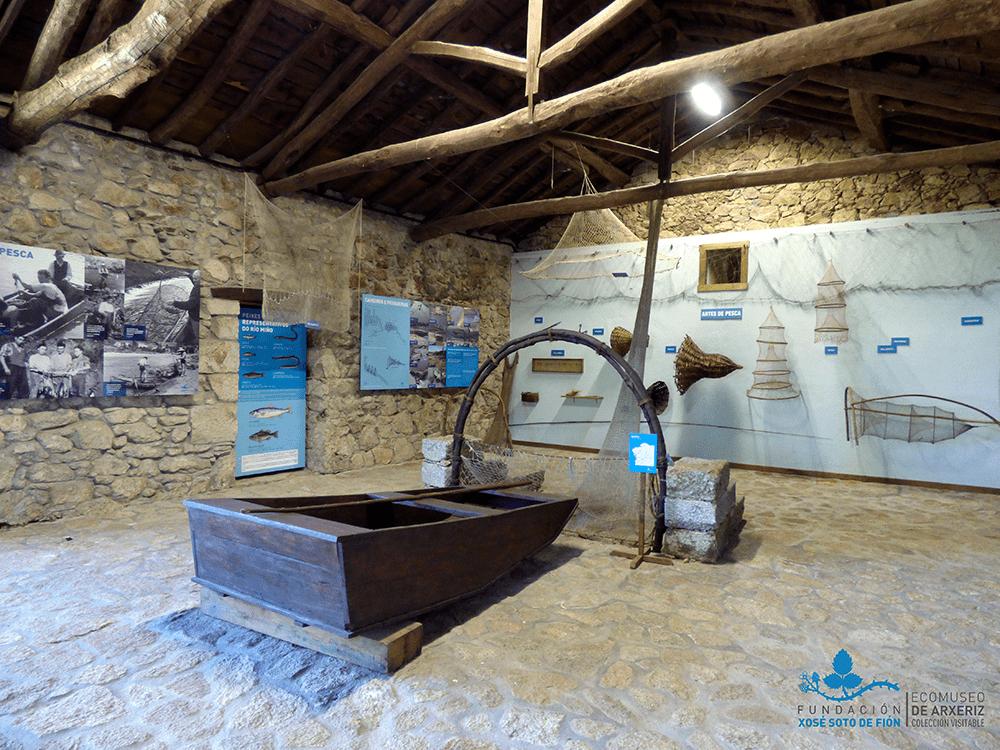 Ecomuseo de Arxeriz Ribeira Sacra - Fundación Xosé Soto de Fión
