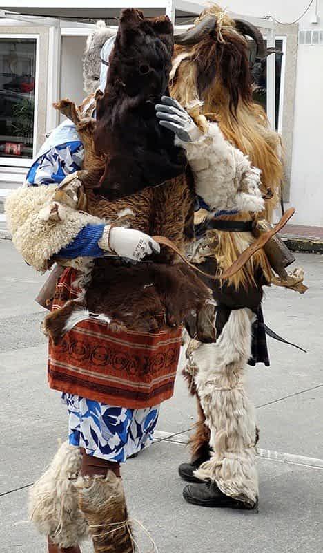 Peliqueiros Carnavales Galicia